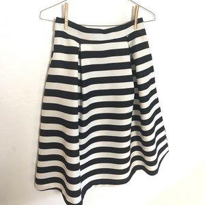 Haute Monde Skirts - Haute Monde Striped Full Skirt Sz Large